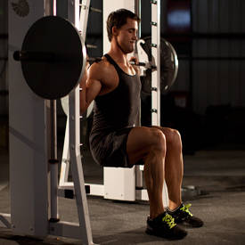 gym chest chair used bean bag chairs for sale squat exercise videos guides bodybuilding com