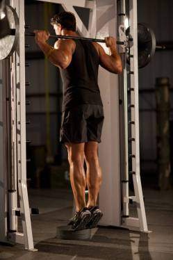 Image result for calf raise smith machine