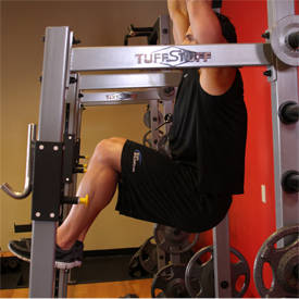 Colgando elevación de la pierna