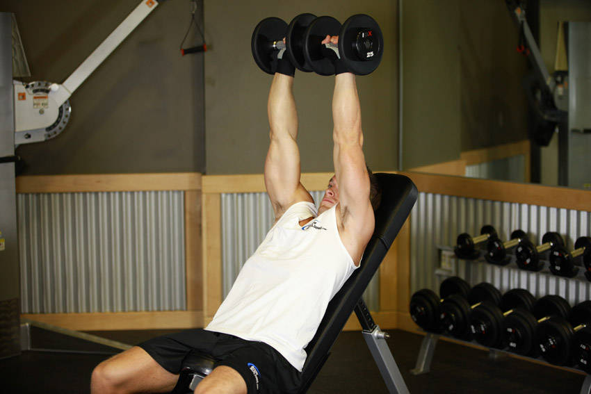 Dumbbell Incline Shoulder Raise Exercise Guide And Video