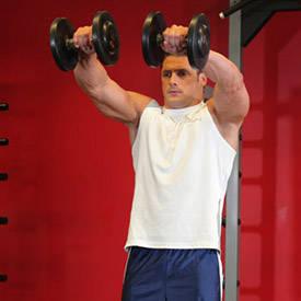 shoulder workout  bodybuilding