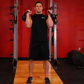 Alternating Kettlebell Press