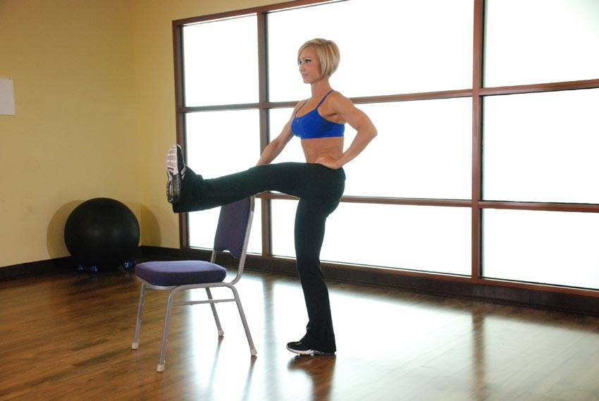 Front Leg Raises Exercise Guide and Video