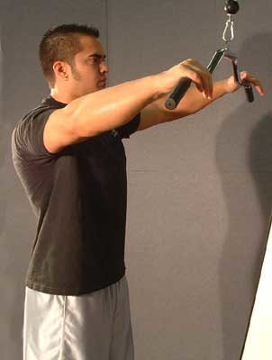 Training The Detail Muscles With Isolation Exercises To
