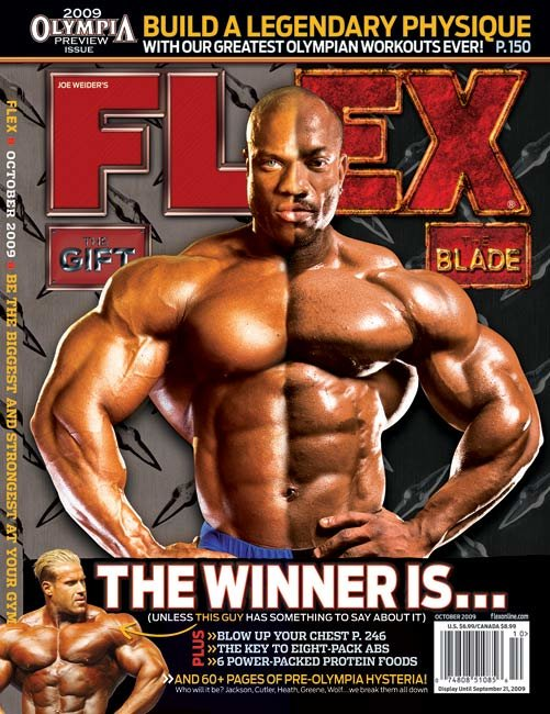 The most popular bodybuilder with the least amount of magazine covers
