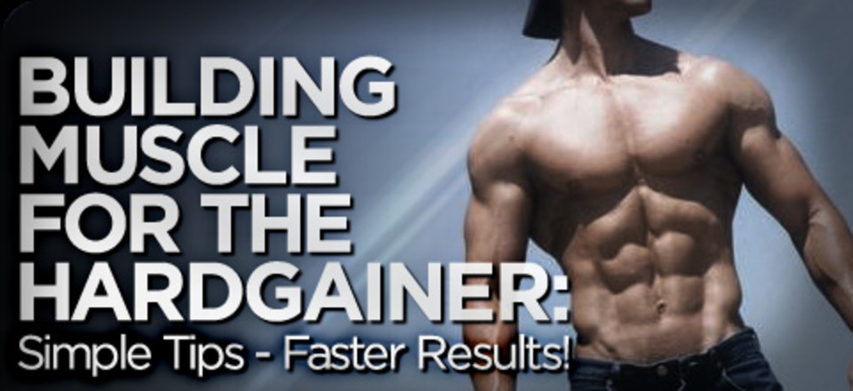 Building Muscle For The Hardgainer Simple Tips Faster