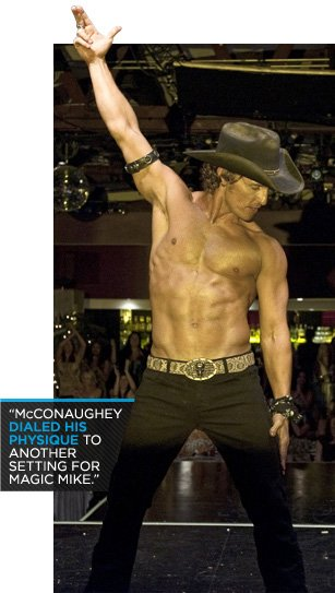 Matthew McConaugheys Magic Mike Abs Workout Nutrition