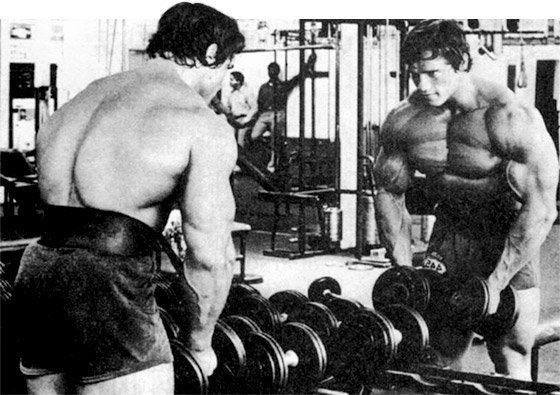 Lift heavy to grow like arnold bodybuilding fitness blog when you dare to lift heavy your body joins in the quest it gains strength when you ask it to be stronger lift more gain muscle and be a strong man malvernweather Gallery