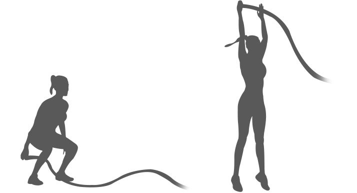 Torch Body Fat With Battle Ropes!