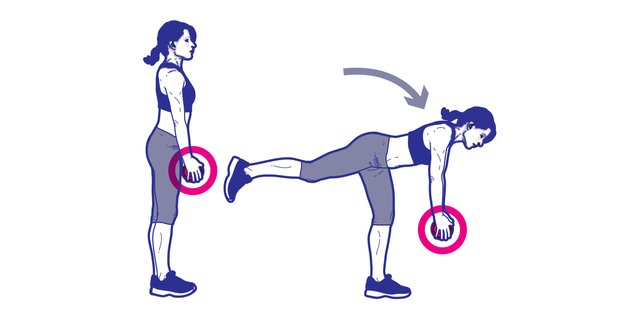 The Total Body One Weight Do Anywhere Workout