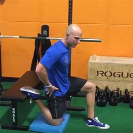 Dynamic Hip-Flexor Stretch