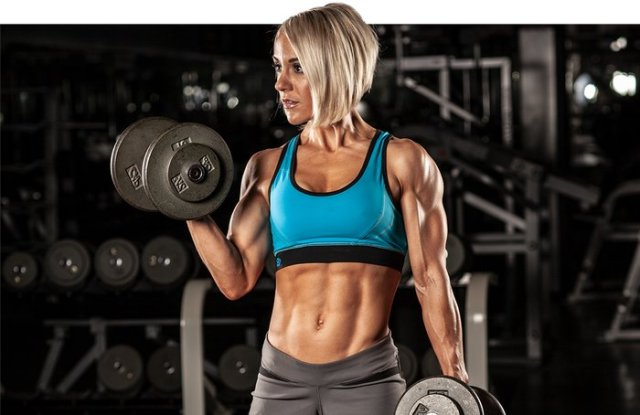 Haltère biceps curl