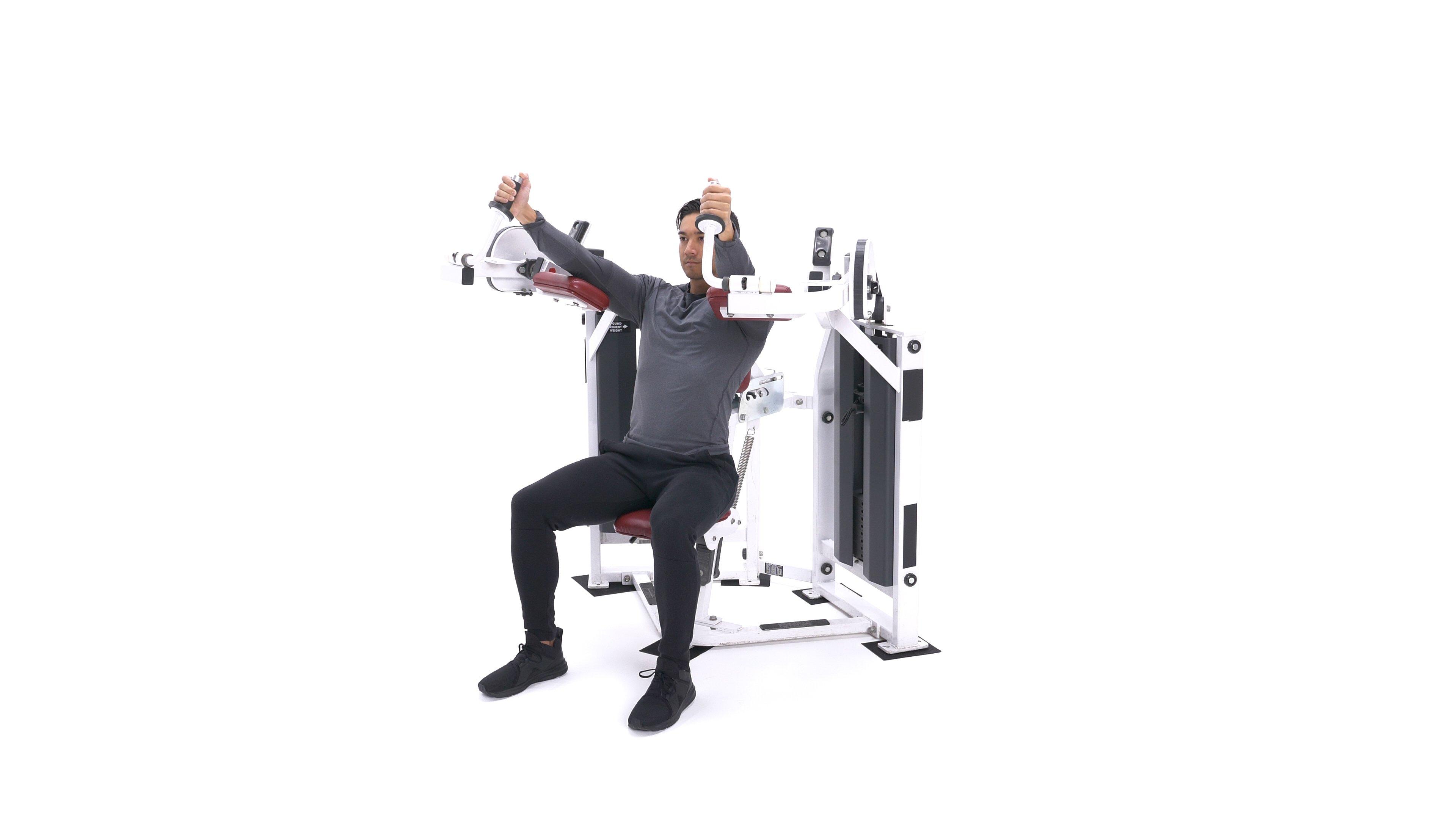 Machine Triceps Extension   Exercise Videos & Guides   Bodybuilding.com