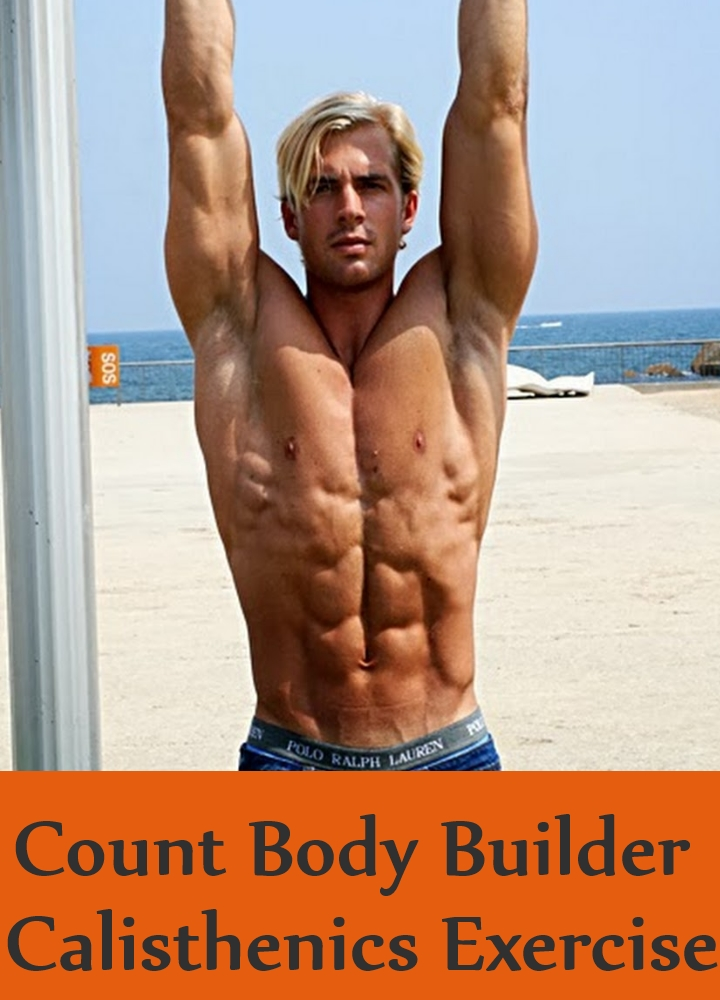 Count Body Builder Calisthenics Exercise