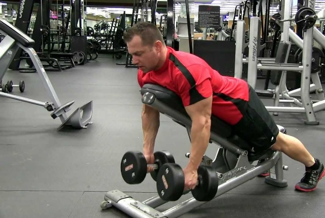 Dumbbell Shrugs: