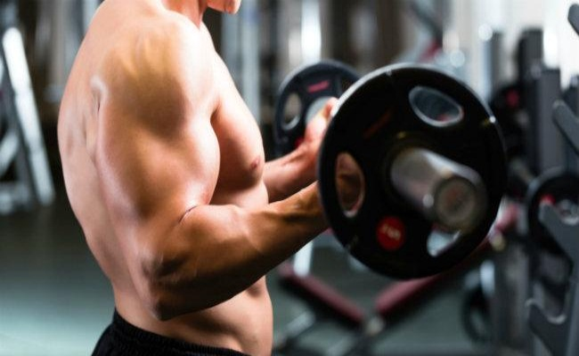 Barbell Curls With Cheat Curls