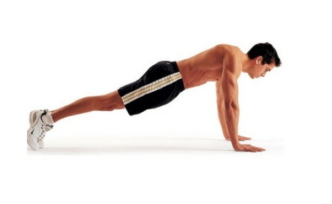 Perform Push-ups And Push-downs