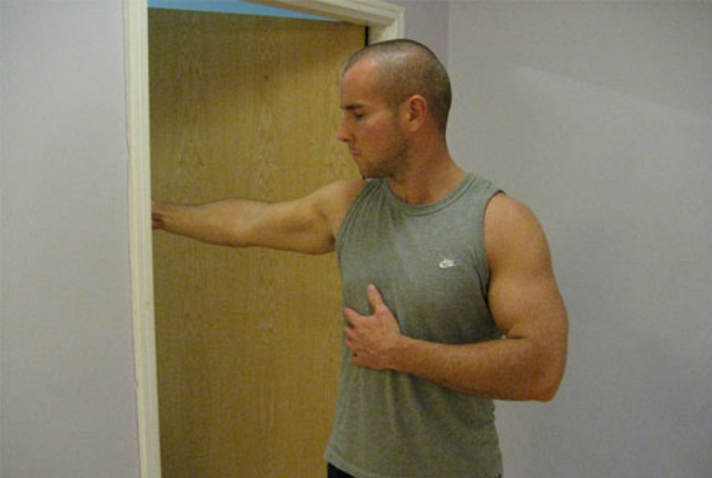 Doorway Biceps Stretches