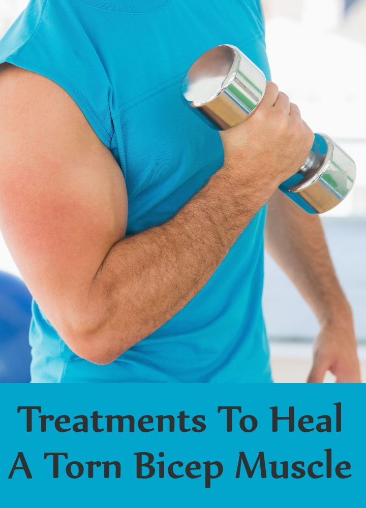 Treatments To Heal A Torn Bicep Muscle