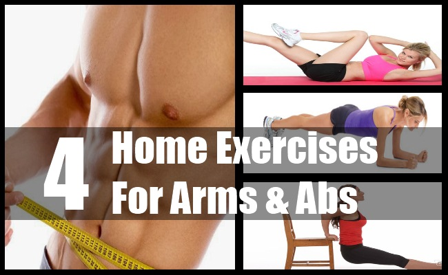 Home Exercises For Arms & Abs