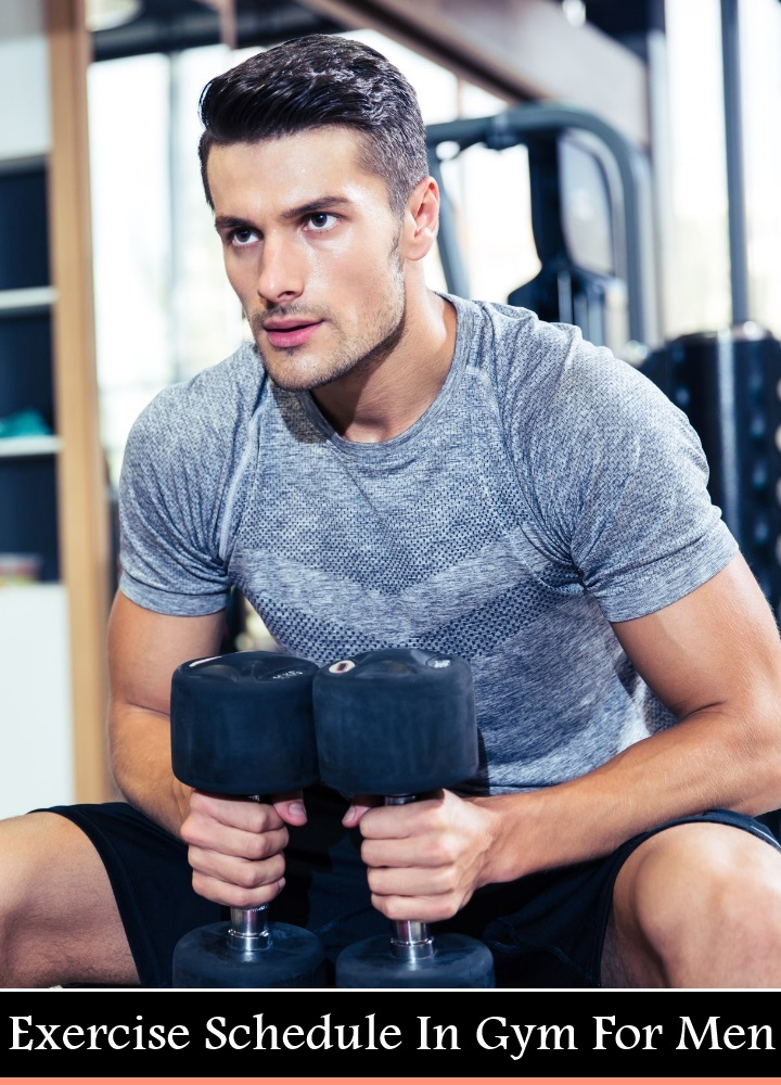 Exercise Schedule In Gym For Men
