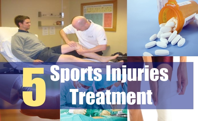 5 Sports Injuries Treatment
