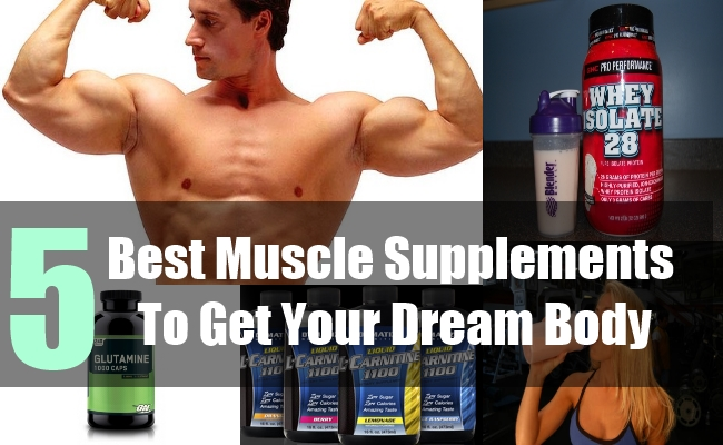 5 Best Muscle Supplements To Get Your Dream Body