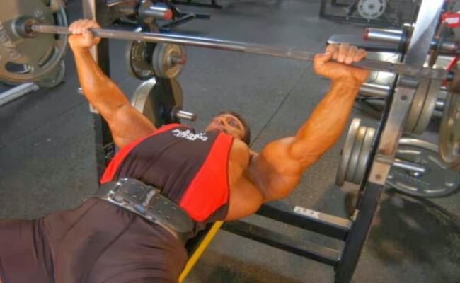 Bench Press More Weights