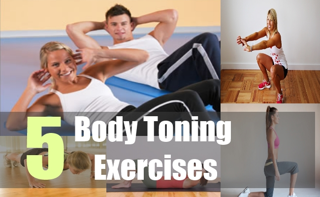 5 Body Toning Exercises