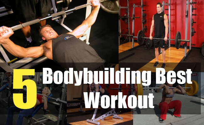 5 Bodybuilding Best Workout