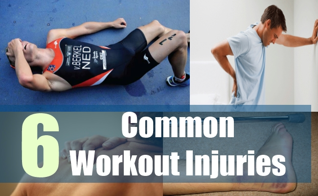 6 Common Workout Injuries