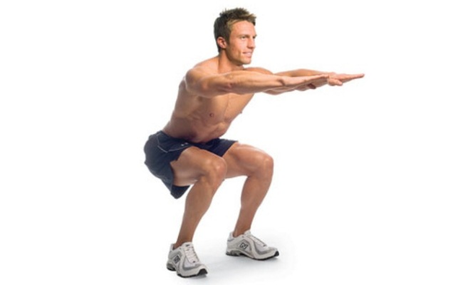 Body-weight Squats