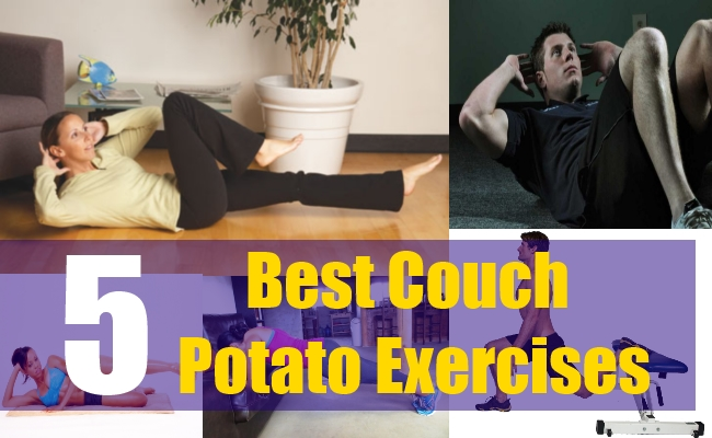 5 Best Couch Potato Exercises