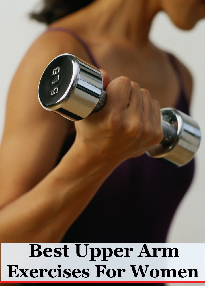 5 Best Upper Arm Exercises For Women