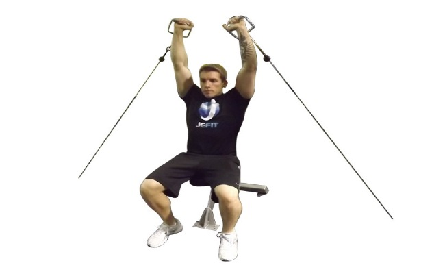 Cable Shoulder Press