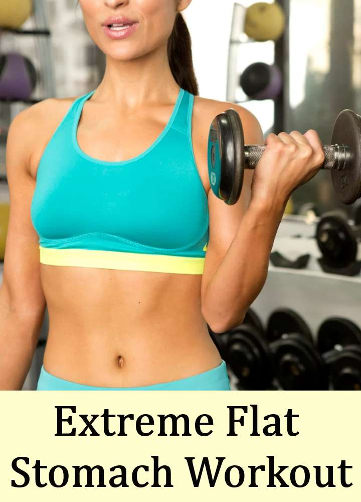 Extreme Flat Stomach Workout