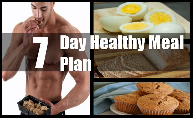 Healthy 7 Day Meal Plan