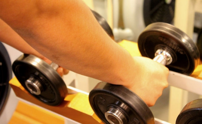 Lift The Right Amount Of Weights