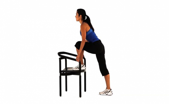 Step Up Chair Exercise