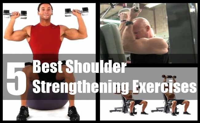 houlder Strengthening Exercises