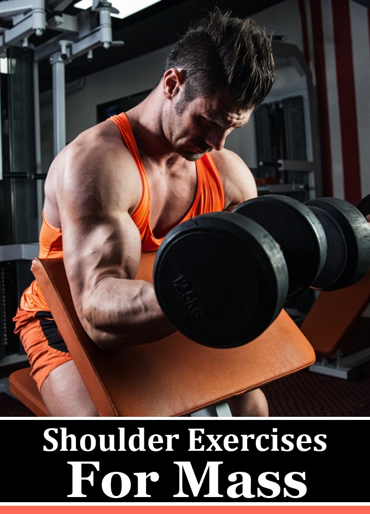 5 Best Shoulder Exercises For Mass