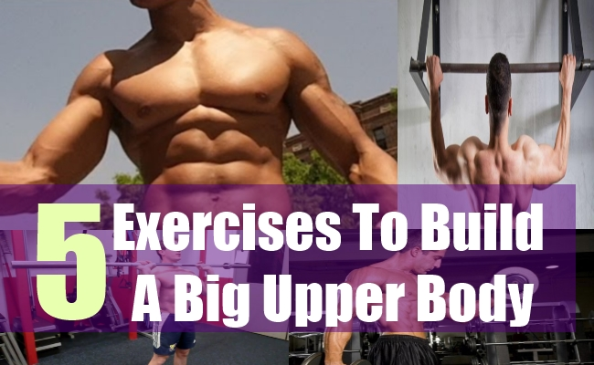 5 Exercises To Build A Big Upper Body