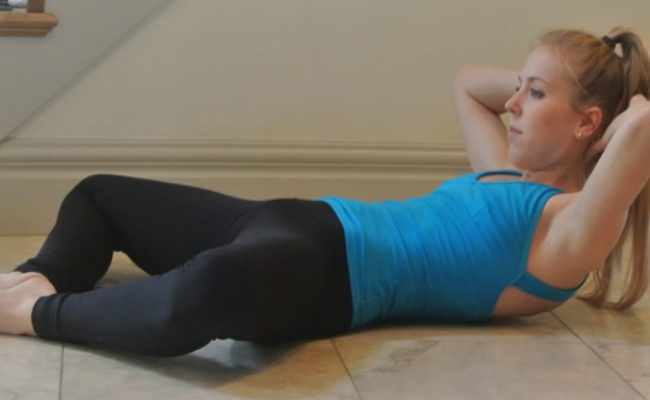 Butterfly Abs Workout