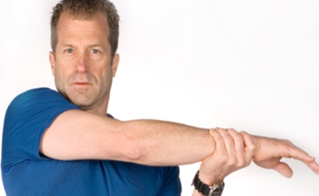 Shoulder Muscles Easy Stretch