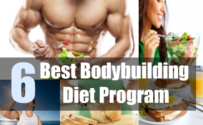 6 Best Bodybuilding Diet Program
