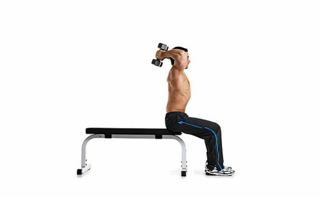 Seated Triceps Extension