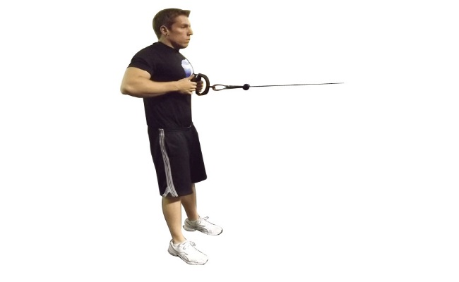 Standing Cable Row Exercise