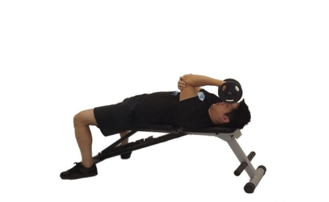Standing Low Pulley One Arm Triceps Extension