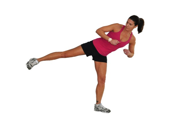 Side Kick While Standing
