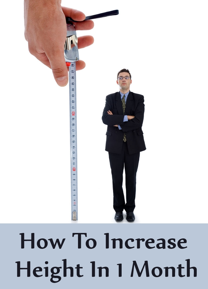 How To Increase Height In 1 Month